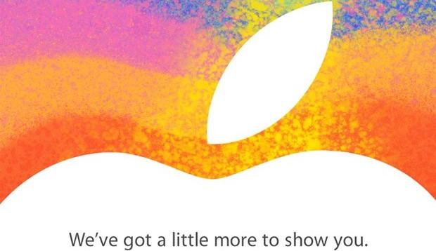 Apple Einladung um Presseevent am 23. Oktober