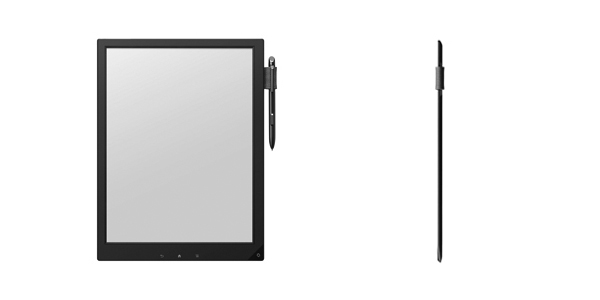 So sieht der Prototyp des 13 Zoll großen E-Ink-Tablets aus. Quelle: e-book-news.de