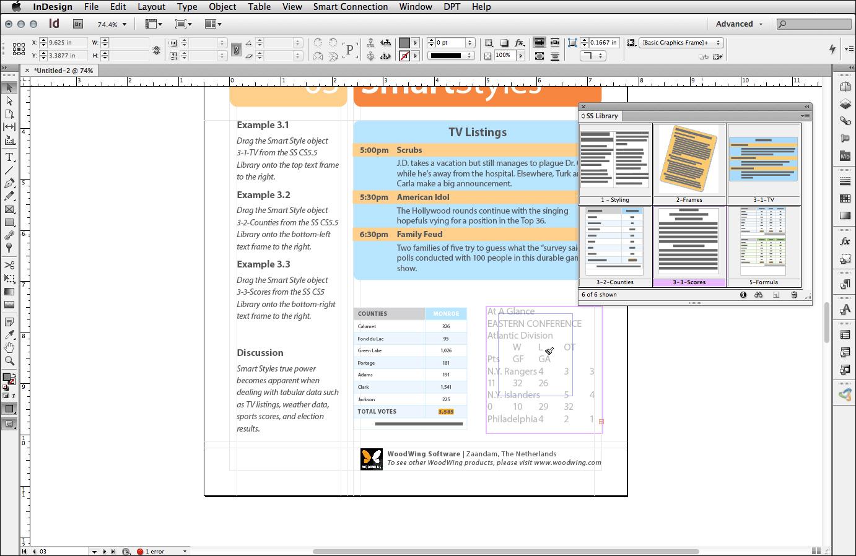 Das Formatierungs-Plugin Smart Styles ist nun für InDesign CC und InCopy CC aktualisiert