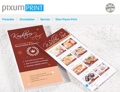 Der Fotodienstleister Pixum startet einen eigenen Online-Printshop