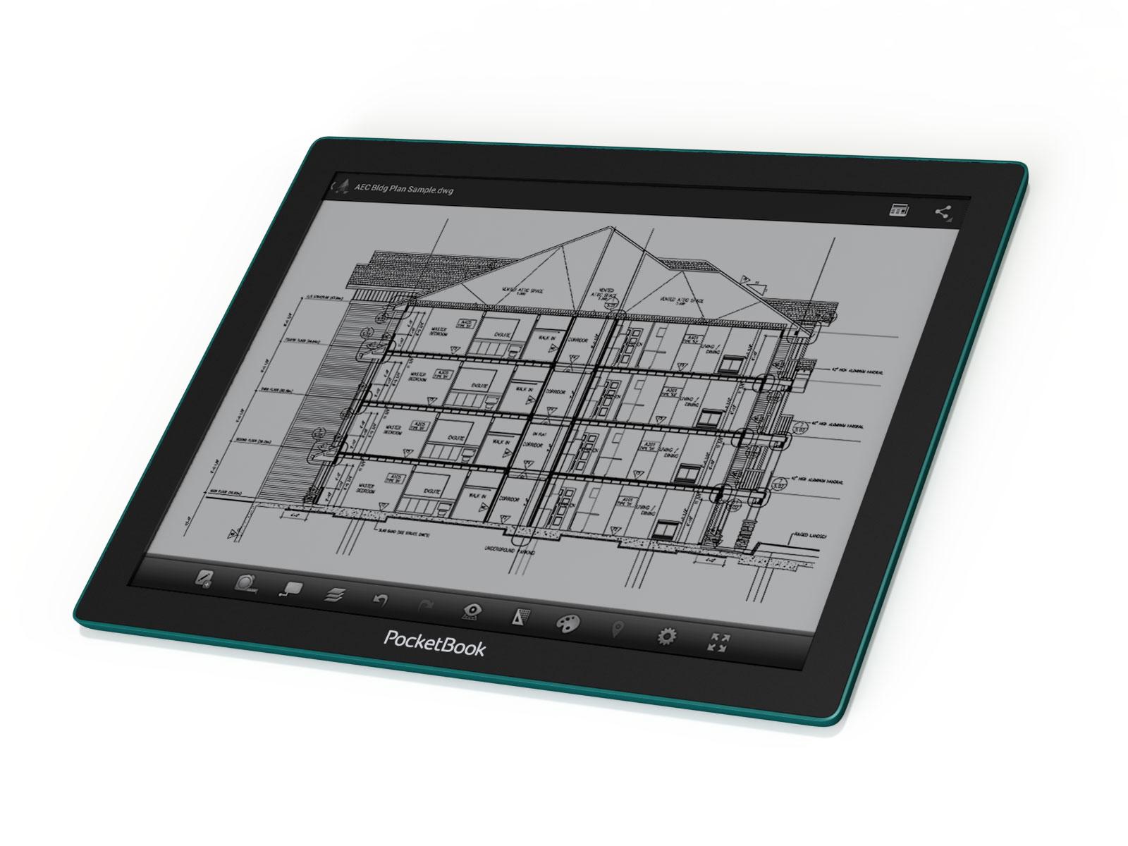 """Mit der neuen """"Fina""""-Technologie sind größere und dünnere E-Ink-Displays möglich. Quelle: eink.com"""
