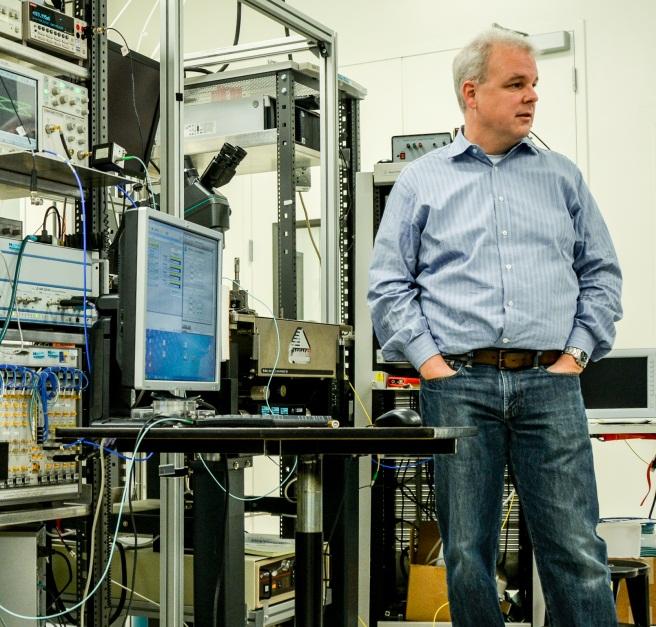 Martin Fink, Cheftechniker von HP, sieht 3D-Drucker eher bei Druckdienstleistern als bei Konsumenten.