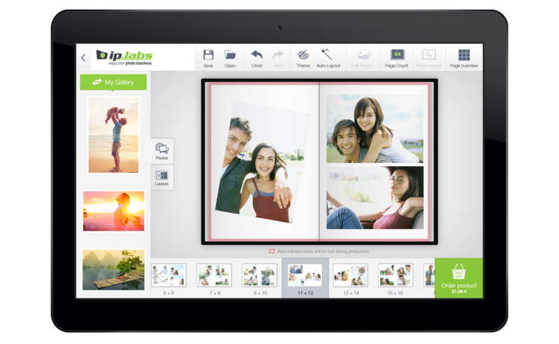 Photo Genie Cross für Android Tablets (Abb.: ip.Labs)