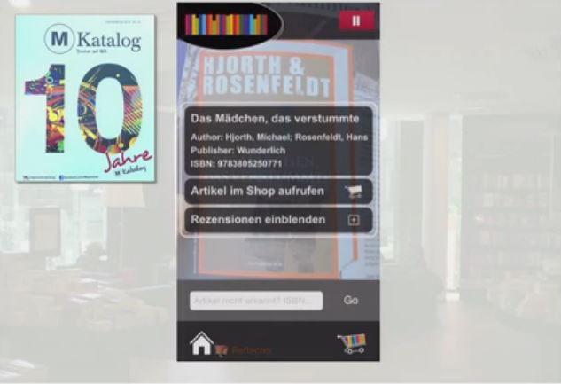 Die Mayersche Buchhandlung bringt diesen Monat ihre eigene AR-App heraus.