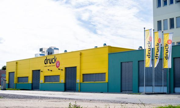 Produktionsstätte der druck.at (Abb. des Unternehmens)