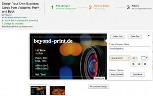 Amazon-Vistaprint - Beyond Print