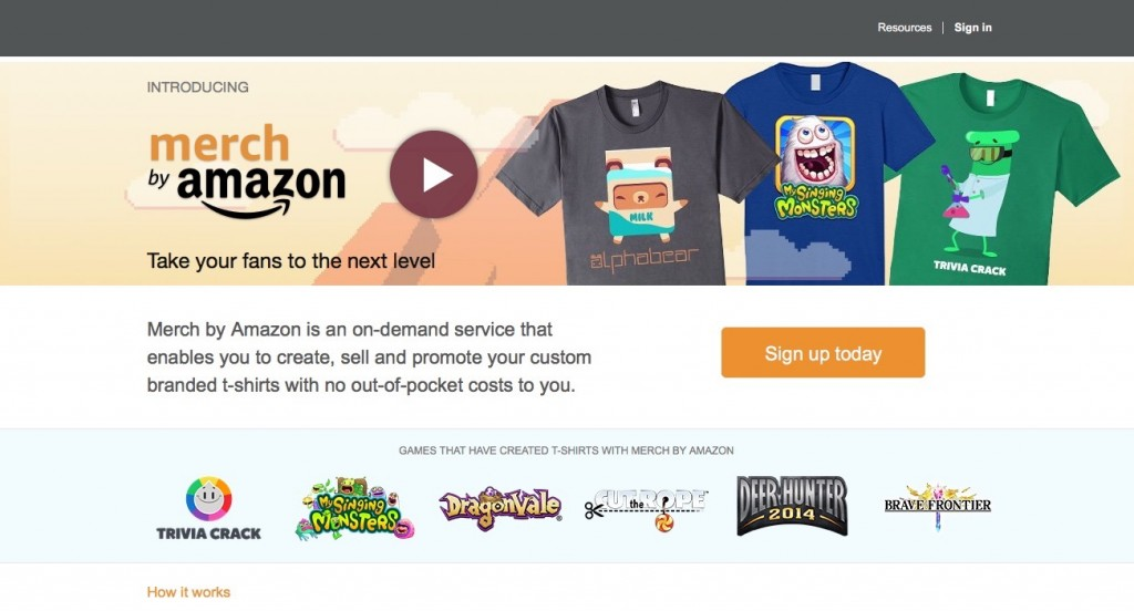 Auch Amazon geht mit Merch by Anmazon den Crowdfunding-Weg.