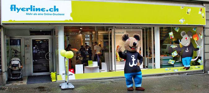 Flyerline Store in Bern (Abb: Flyerline.ch)