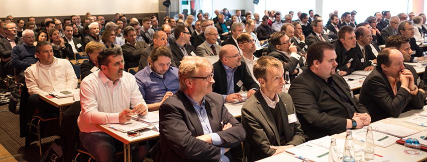 Déjà-vu: Bereits 2015 war das Online Print Symposium komplett ausgebucht.