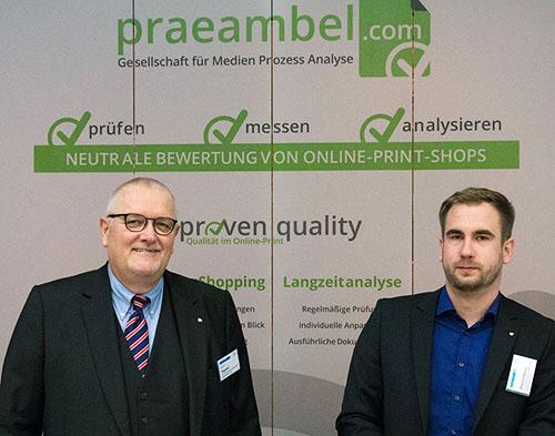 Rudolf Tippner, Senior Consultant und Ulrich Wolzenburg, Analyst/Auditor at praeambel.com