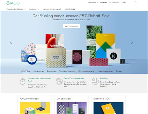 """Fig.: moo.com online store – a great example of a """"customer journey"""" that works"""