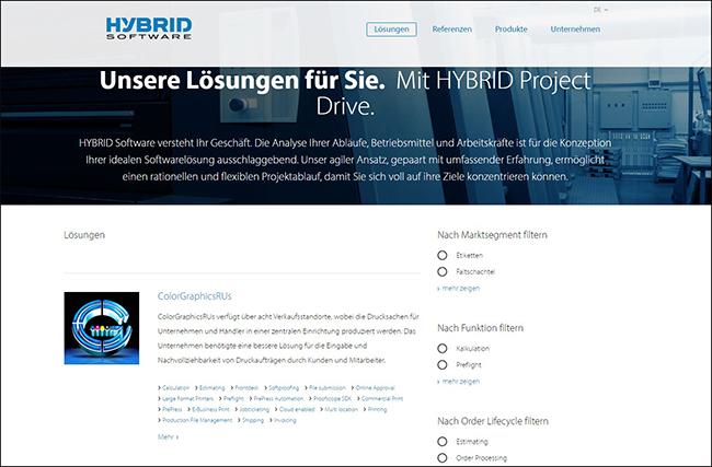 Quelle: Screenshot www.hybridsoftware.com