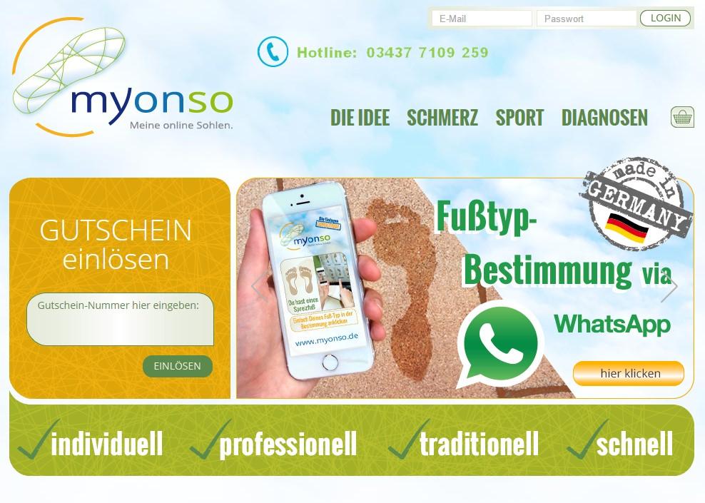 Quelle: Screenshot myonso.de