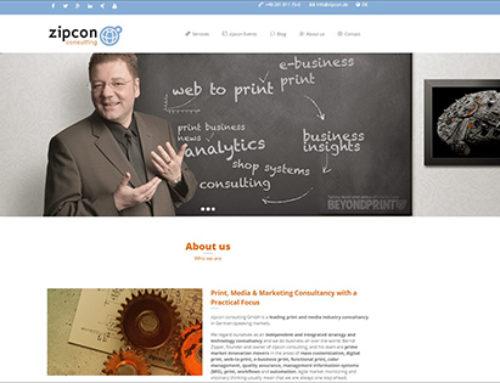 Relaunch: zipcon Website im neuen Design und jetzt auch auf Englisch