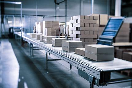 Automatisierung, auch im Logistikbereich, ist für einen Onlineprinter wie Flyeralarm Voraussetzung für kommerziellen Erfolg, Bildquelle Flyeralarm