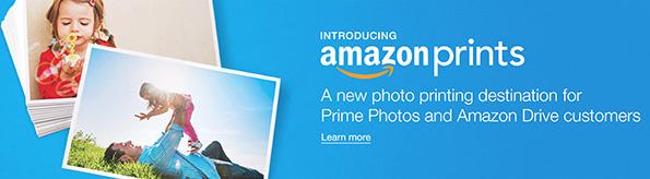Die Einführung von Amazon Prints kann für Online-Fotodrucker schwere Zeiten bedeuten; Quelle: amazon.com