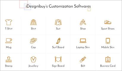 Mass Customization in voller Breite – die Angebotspalette von Idesignibuy; Quelle: idesignibuy.com