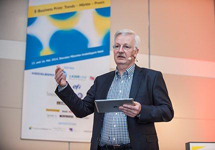 Rainer Esters, Geschäftsführer Color Alliance hier am Online Print Symposium 2014