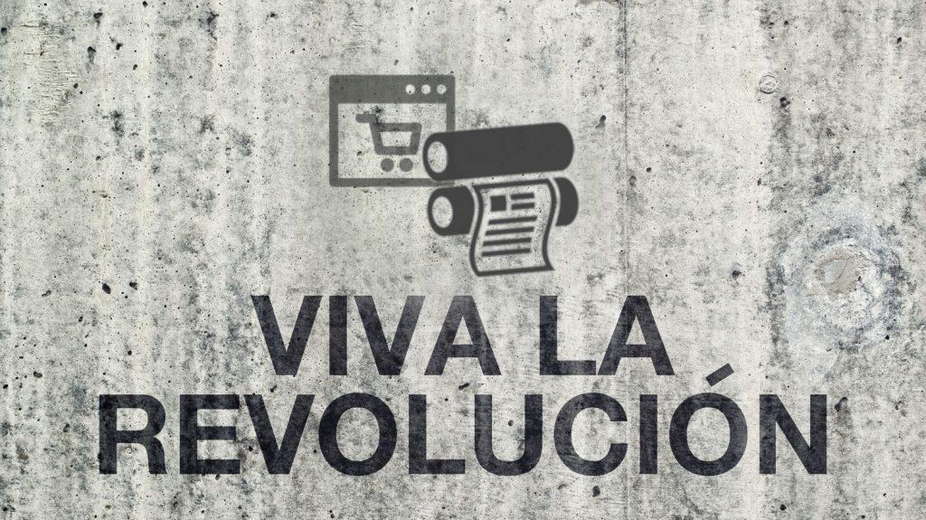 Der Onlinedruck wird 2017 die ganze Branche revolutionieren oder besser evolutionieren.