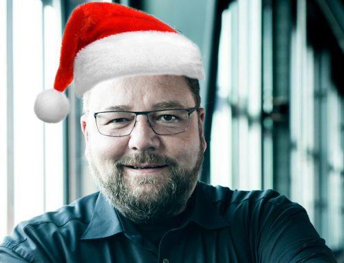 """Besinnliche Weihnachtszeit, viel Erfolg und allseits eine """"glückliche Hand"""" – das wünsche ich Ihnen!"""