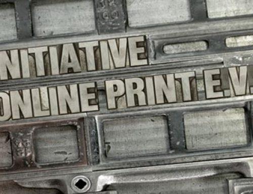 Initiative Online Print: Interessenvertretung der Online Drucker – Was steckt dahinter?