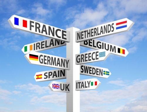Onlinedruck international: Produktion, Service und Versand – wie aktiv sind deutsche Onlineprinter im europäischen Ausland?
