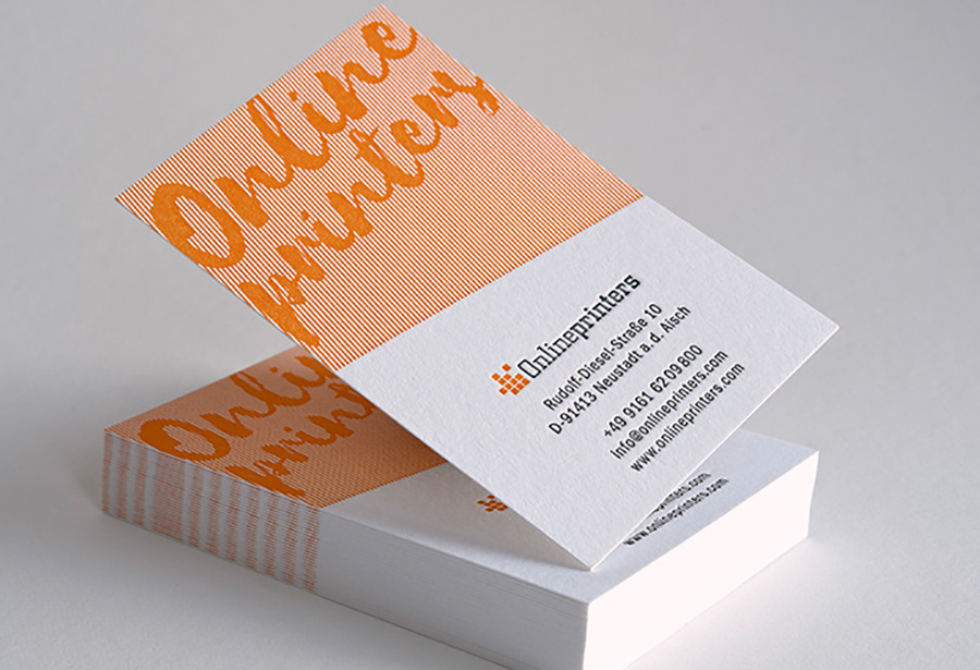 Cooperation Letterjazz S Letterpress Business Cards Now