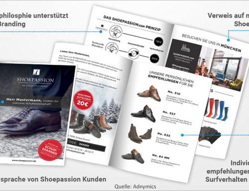 Adnymics: Personalisierte Print-Paketbeileger sorgen für Kundenbindung