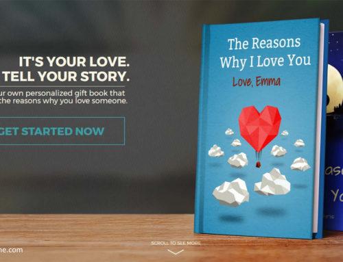 Lovebook: Liebesgrüße in Buchform online selbst kreieren