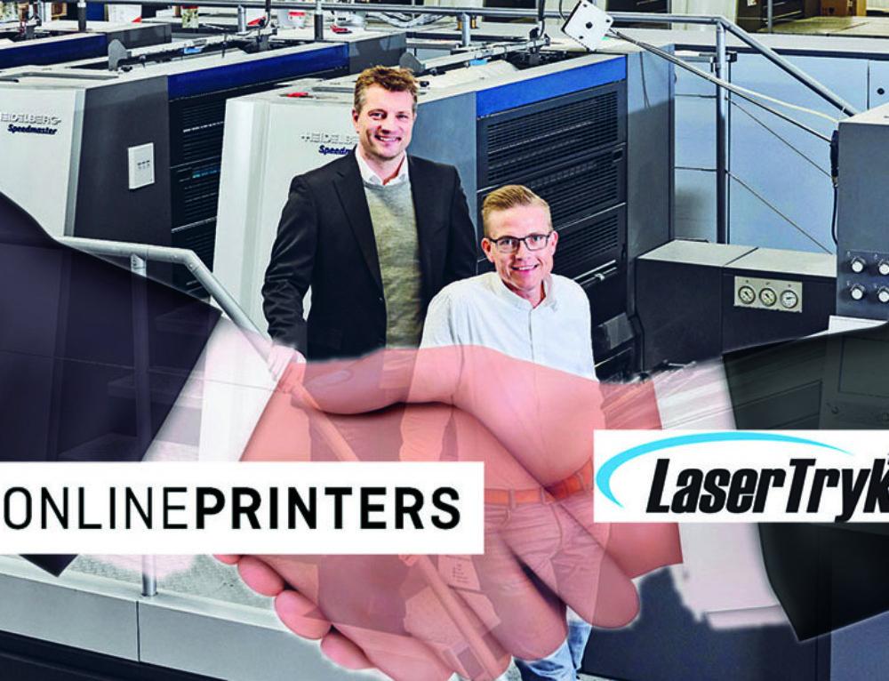 Onlineprinters: LaserTryk wird Teil der Gruppe