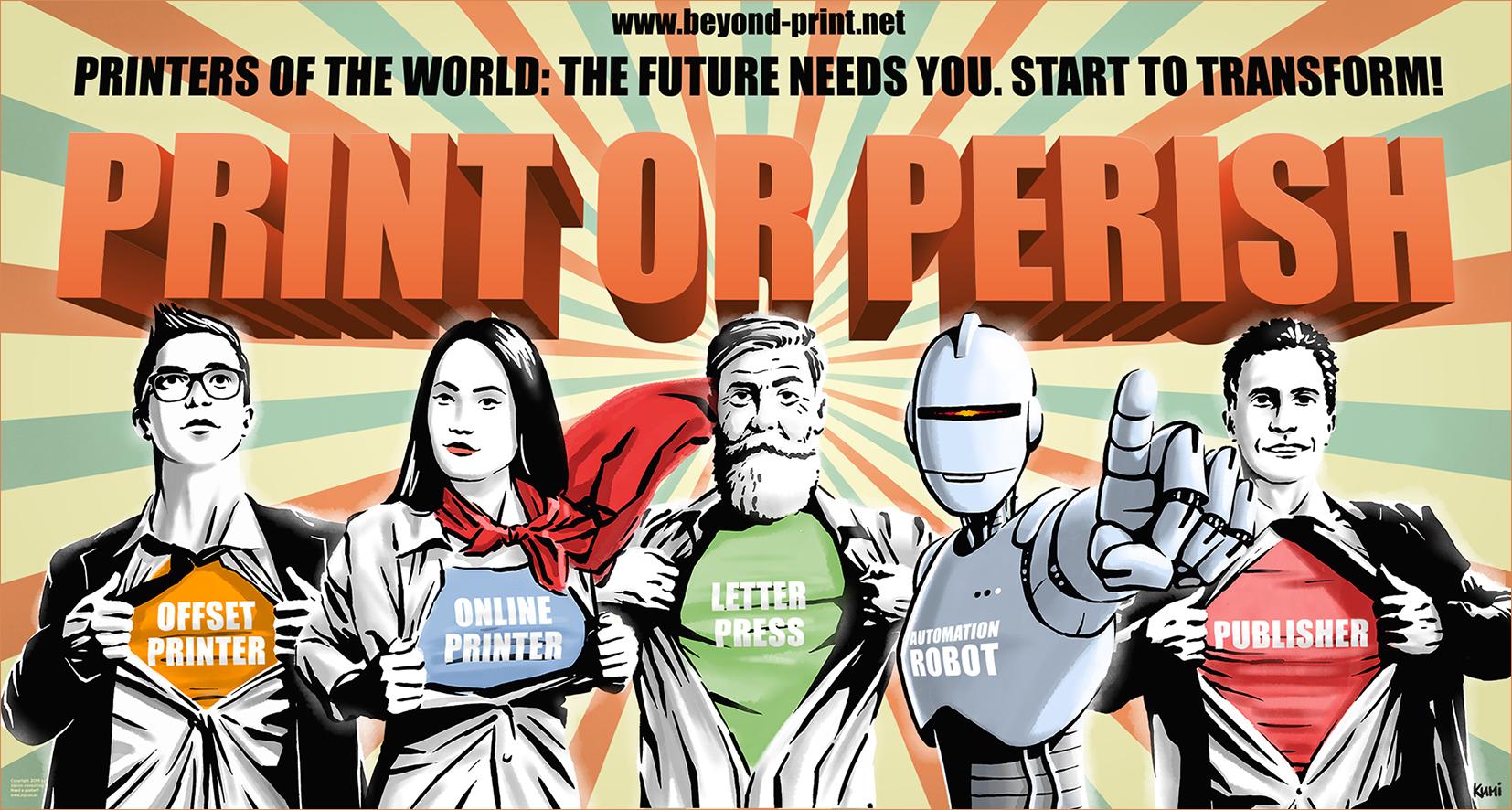 """Zukunft: """"PRINT OR PERISH"""" – Zeit zur Transformation!"""