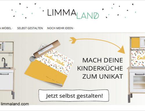 Limmaland: Kindermöbel-Personalisierung via Onlinedruck