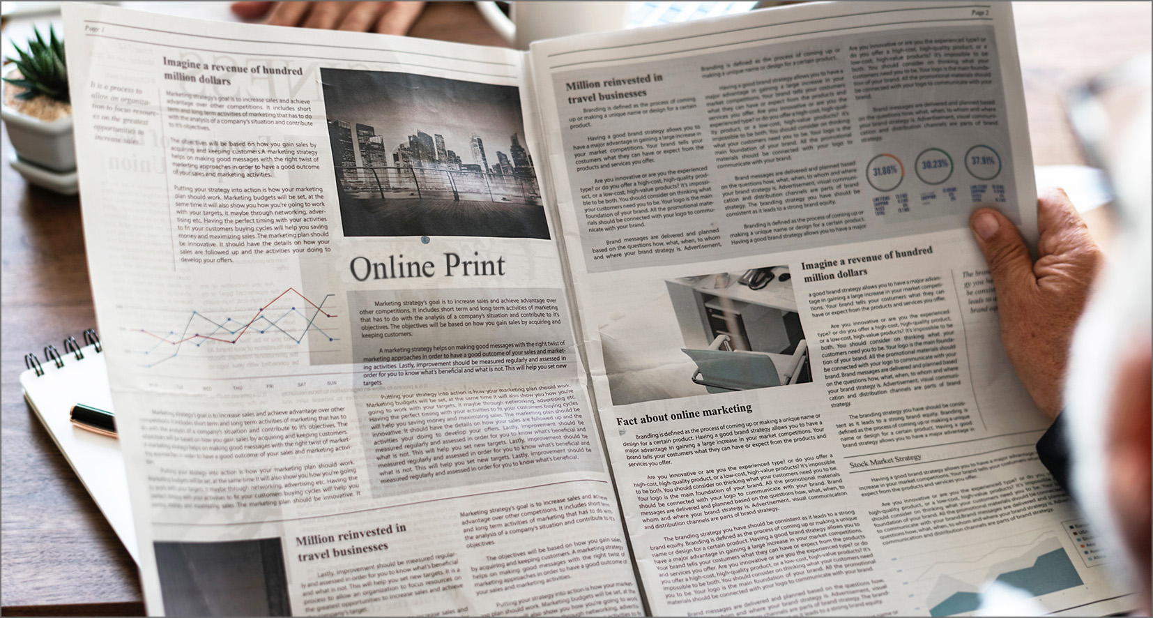 Zeitungsdruck: Schnell und wirksam – was bieten deutsche Onlineprinter?
