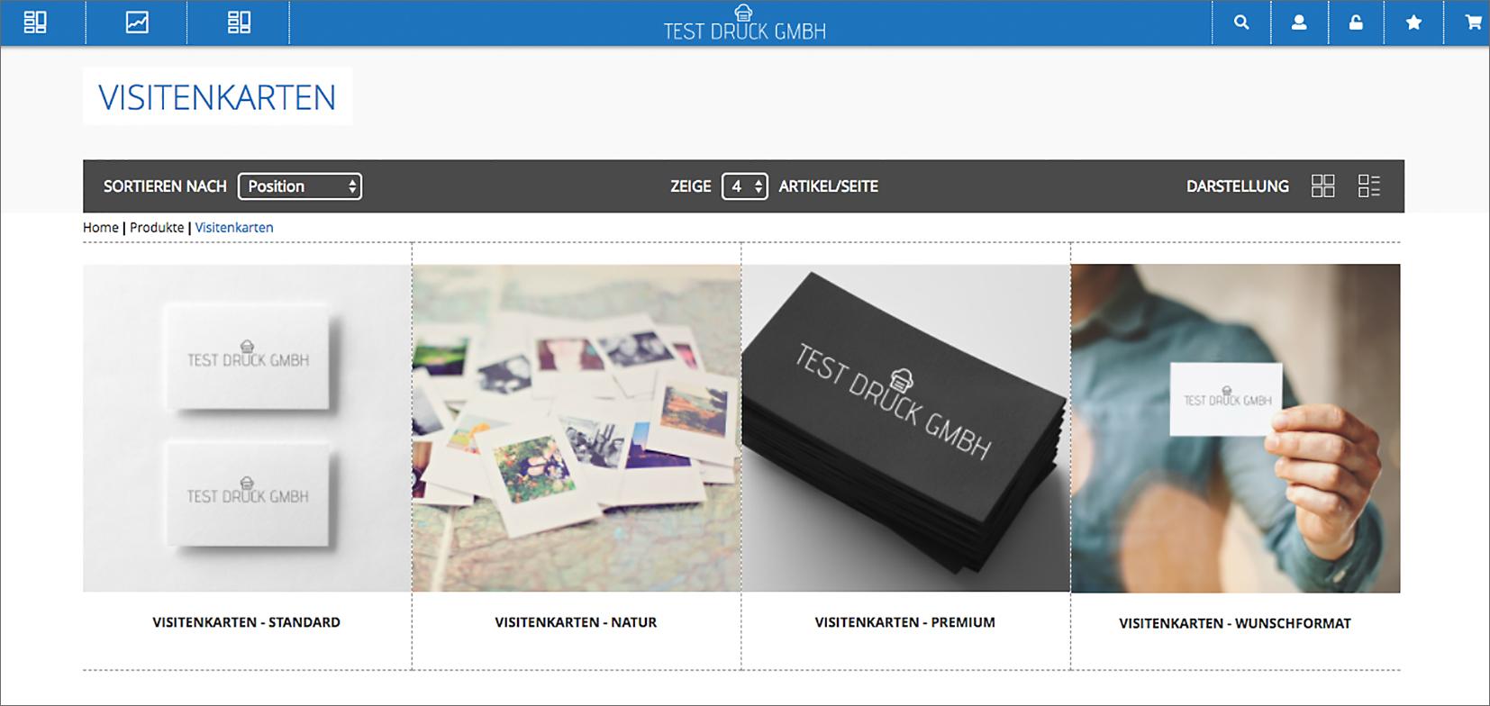 Octoshop Visitenkarten Beyond Print De