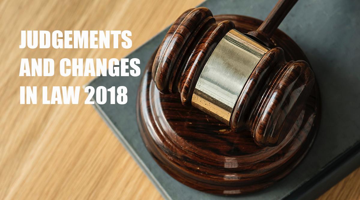Recht für Onlineprint: Was änderte sich 2018?