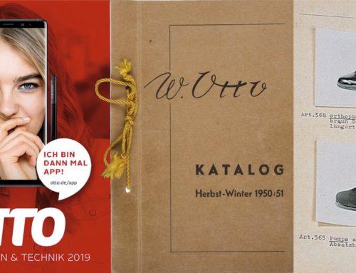 Otto-Katalog: Ich bin dann mal weg