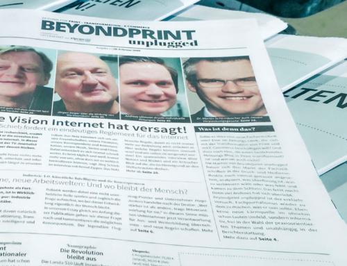Beyondprint unplugged: Über den Druck hinaus