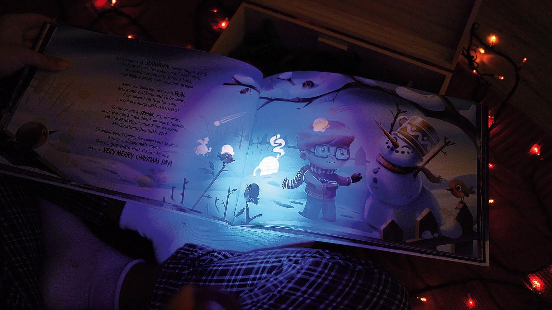 Glow in the dark: Personalisierte Kinderbücher