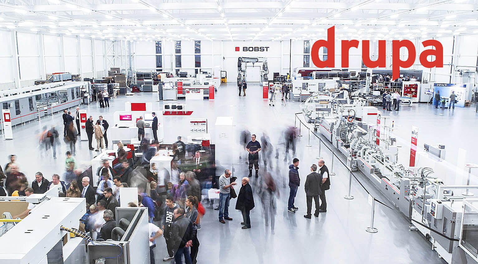 drupa 2021: Bobst und Xerox sagen ab