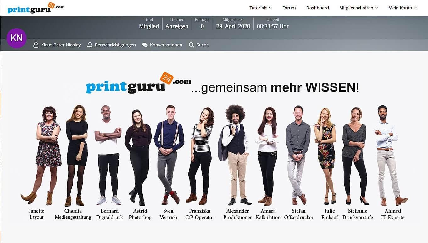 Online-Plattform printguru24.com: Wissen, wo es lang geht