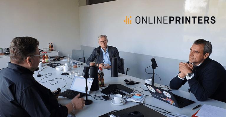 News: Podcast mit Roland Keppler und Christian Würst von Onlineprinters