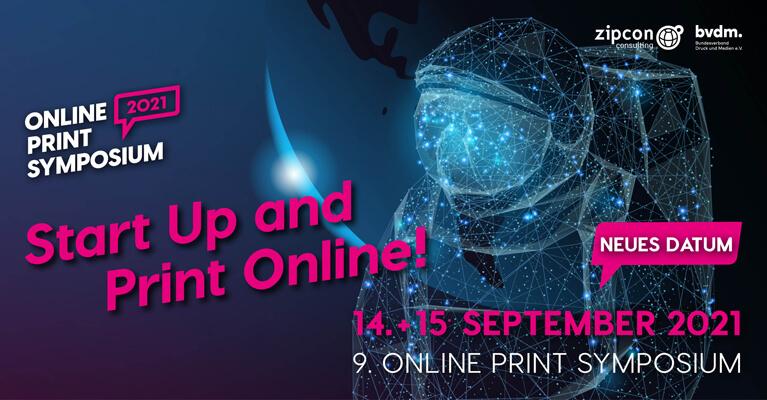 News: Online Print Symposium 2021: Neuer Termin 14./15. September