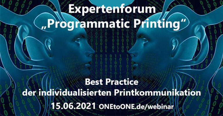 News: Expertenforum zu Programmatic Printing
