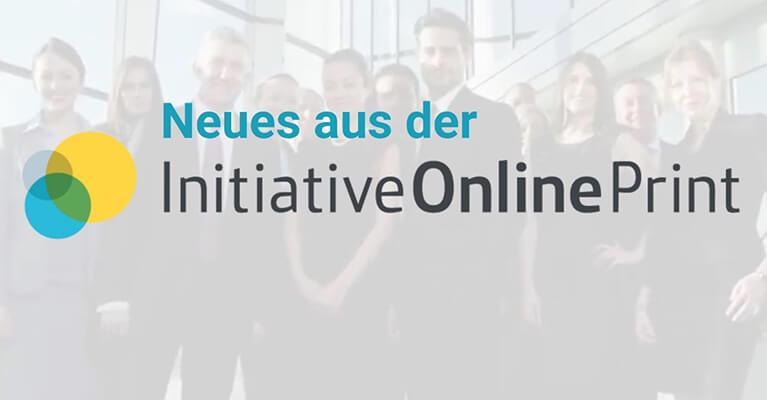 News: Aktuelles aus der Initiative Online Print