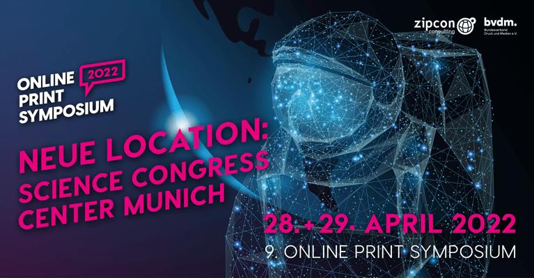 Online Print Symposium 2022 in brandneuer Location